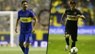 Insaurralde y Silva, disputan un duelo con Boca Juniors