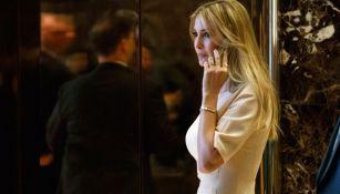 Ivanka Trump arriba a la empresa de su padre