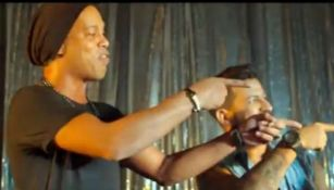 Ronaldinho canta en nuevo video musical