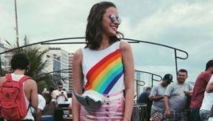 Bruna Marquezine luce feliz en el carnaval de Río de Janeiro