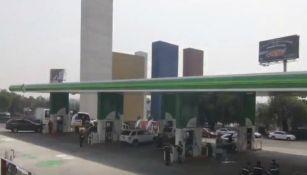 Instalaciones de 'Combustibles BP' en Satélite, Estado de México