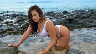 Ashley Graham posa para revista deportiva