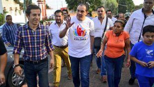 Cuauhtémoc Blanco visita colonias de Cuernavaca