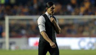 Francisco Palencia después de la goliza contra Tigres