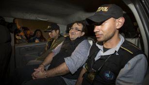 Javier Duarte luce feliz tras ser capturado en Guatemala