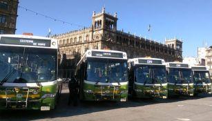 Presentación de nuevos camiones para transporte público