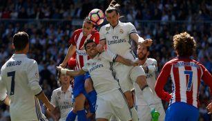 Atlético y Real Madrid se enfrentan en el Derbi en La Liga