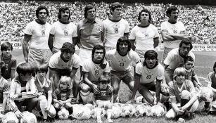 Jugadores de Cruz Azul en el año de 1969