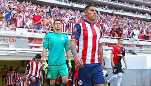 Carlos Salcido, previo a disputar el duelo entre Chivas y Atlas
