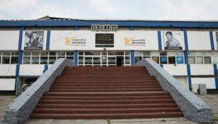 Esta es la fachada del Velódromo