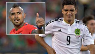 Jiménez se lamenta y Vidal festeja en Copa América Centenario