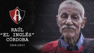 Rául Córdoba era uno de los dos sobrevivientes del Campeón Atlas