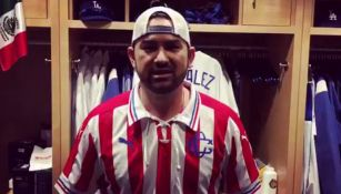 Adrian González manda mensaje de apoyo a Chivas