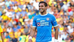 Jorge Benítez, en el juego entre Cruz Azul y Morelia en la Copa MX