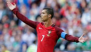 Cristiano Ronaldo después del partido contra México