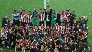 Chivas festeja el título del Clausura 2017