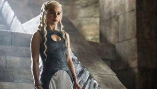 Emilia Clarke, durante su interpretación de Daenerys Targaryen