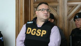 Javier Duarte, antes de ser extraditado