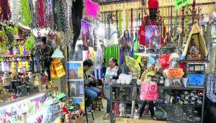 Imagen de uno de los puestos del mercado de Sonora en la Ciudad de México
