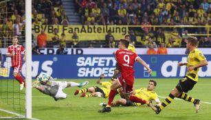 Así fue la anotación de Lewandowski en la Supercopa