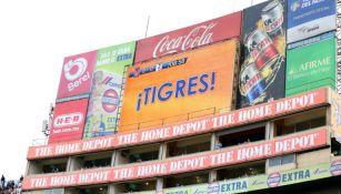 Así apareció el nombre de Tigres cada vez que el portero de Querétaro despejaba
