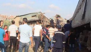 Choque de maquinarias deja al menos 36 muertos en Egito
