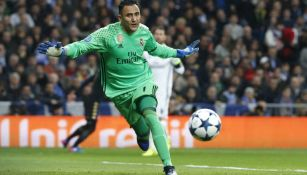Navas disputa un compromiso con el Real Madrid