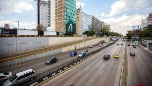 El aspecto de una de las vialidades de la Ciudad de México