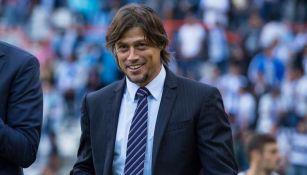 Matías Almeyda en el partido contra Pachuca