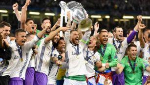 Real Madrid levanta el título de la Champions League