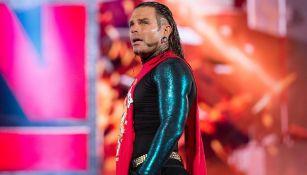 Jeff Hardy en una función de RAW