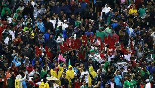 Aficionados del Tri festeja el pase a Rusia 2018 tras vencer a Panamá