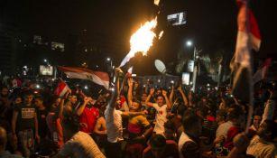Egipcios festejan pase a Rusia 2018