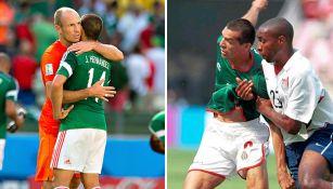 México, en los partidos del Mundial 2014 y 2002