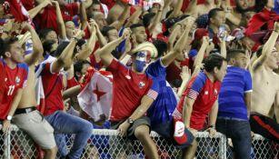 Aficionados de Panamá celebran la clasificación al Mundial