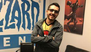 Nomy se muestra contento por representar a México en la Overwatch League