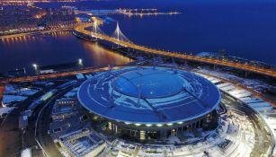 Así luce el Estadio Krestovski de San Petersburgo