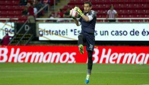 Rodolfo Cota, previo al juego contra Tijuana