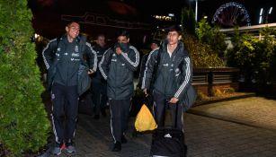 Selección Mexicana arriba a Polonia para su próximo amistoso