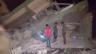 El terremoto causó daños material incalculables