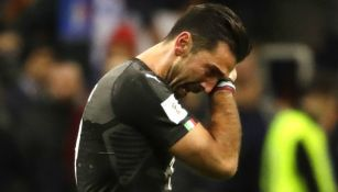 Buffon rompe en llanto después de la derrota de Italia