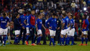 Jugadores de Cruz Azul muestra tristeza tras caer en Cuartos de Final