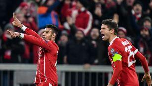 Corentin Tolisso un gol con Bayern contra PSG