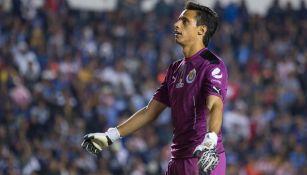 Toño Rodríguez, durante un partido con las Chivas