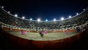 Visión general de una plaza de toros
