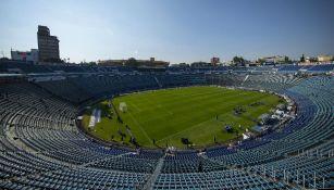 Vista general del Estadio Azul