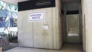 Cualquier persona podrá hacer uso de los baños mixtos