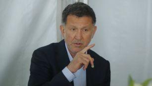 Juan Carlos Osorio habla en un evento público