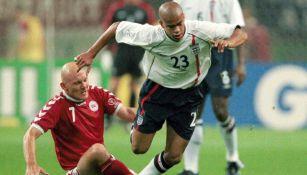 Kieron Dyer, durante un juego en el Mundial de 2002