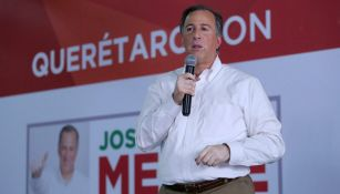 José Antonio Meade, da un discurso en Querétaro